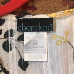 Cherokee Tops - Cherokee scrub top